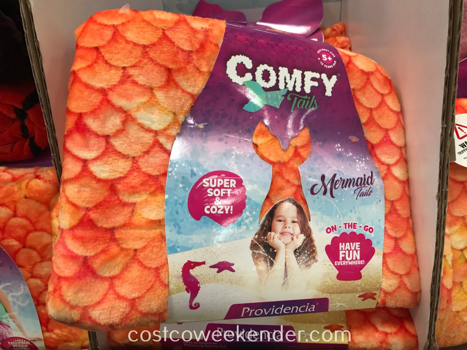 Your child can now be Ariel with the Providencia Comfy Tails Mermaid Tail
