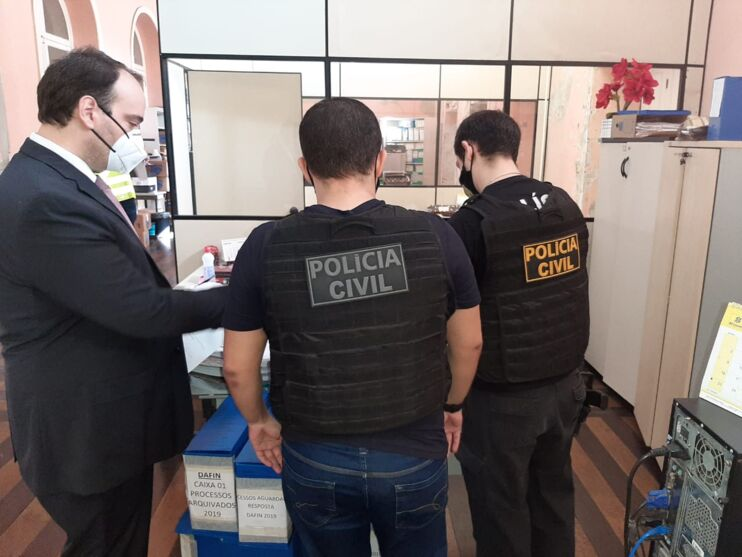Secretaria de Justiça do Pará é alvo de operação da AGU; filho de Éder Mauro na mira