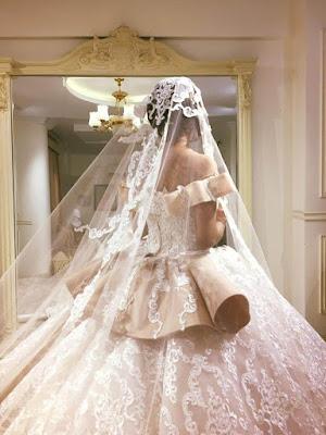 مجموعة من أفخم فساتين زفاف مصممة الازياء المصرية اميرة قزامل