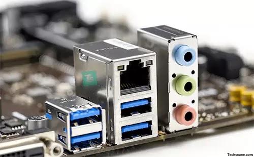 كمبيوتر منفذ USB معطل