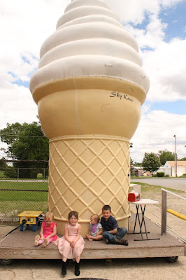 Iowa Ice Cream Road Trip - Sky Kone Ice Cream in Ackley