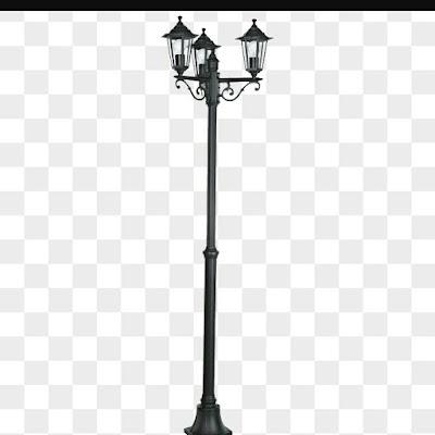 tiang lampu taman antik