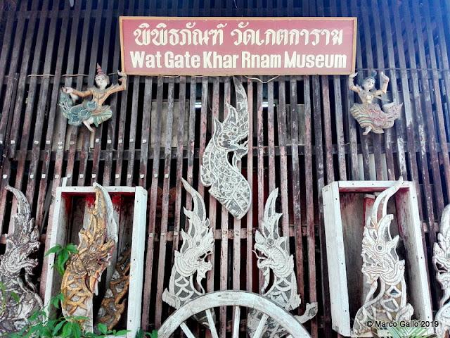 WAT GATE KHAR RNAM MUSEUM. CHIANG MAI, TAILANDIA