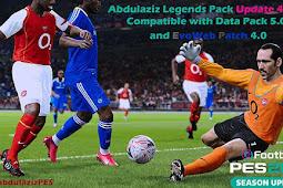 Abdulaziz's Legends Pack Update V4.0 - PES 2021