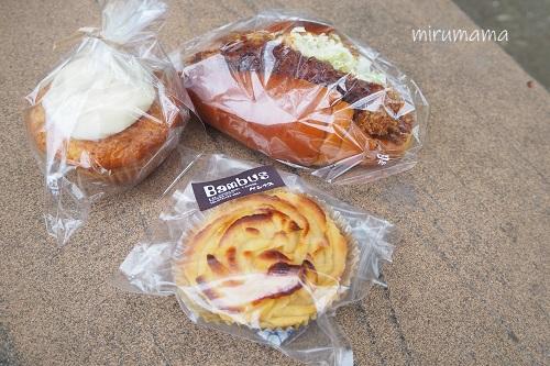 バンブスのパンたち