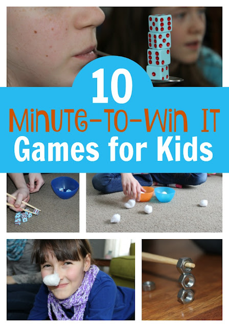 10 Minute-to-Win It Games for Kids