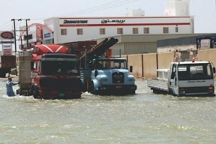 O τροπικός κυκλώνας Σαχίν έπληξε Ομάν και Ιράν
