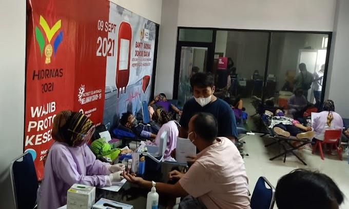 Peringati Hari Olahraga Nasional, Koni Kabupaten Tangerang Gelar Donor Darah