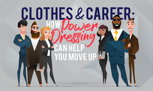 How Power Dressing Can Help You Move Up #infographic