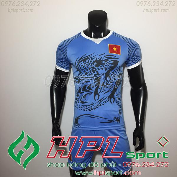 Áo bóng đá đội tuyển Việt Nam rồng xanh ngọc