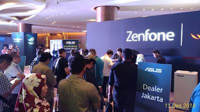 Launching Asus ROG Phone, Zenfone Max Pro M2 dan Zenfone Max M2 di Pullman Central Park, Jakarta.