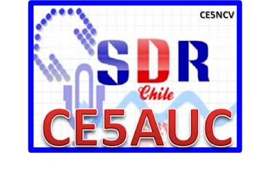 Logo SDR CE5AUC Chile (CE5NCV)