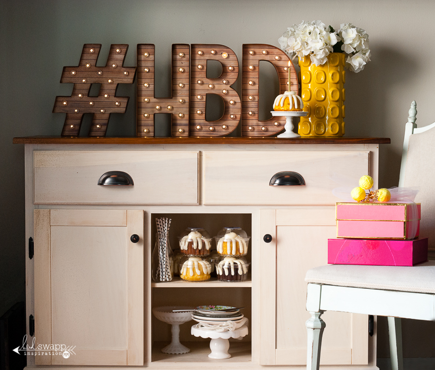 #HBD Marquee Love | @MaggieWMassey for @HeidiSwapp