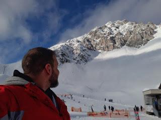 The Social Traveler on the Nordkette in Innsbruck Austria