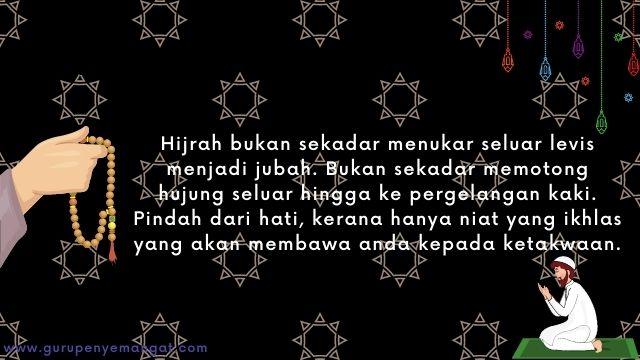 Gambar Ucapan Selamat Tahun Baru Islam 1443 H Melayu 19