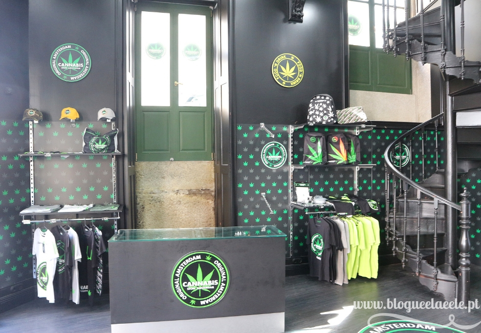 Cannabis Store Amsterdam, em Portugal