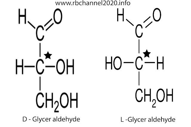 مماكبات الغليسر الدهيد D , L