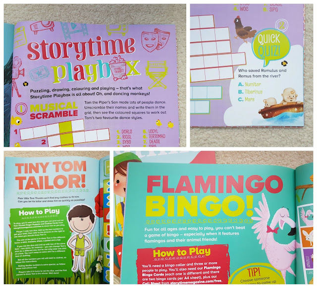 Storytime Magazine, stories for children, children monthly subscription magazine