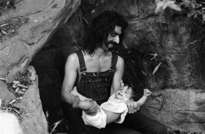 Frank Zappa: daughters Diva Tin Meffin and Moon Unit