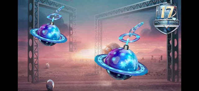 Galaxy Key Chain ornament pubg mobile