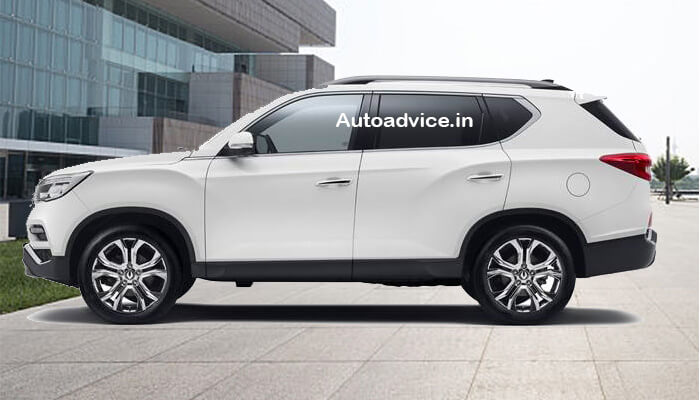 Mahindra SUV Alturas G4 side view