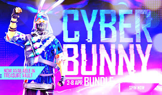 Cyber Bunny bundle in Free Fire: Everything