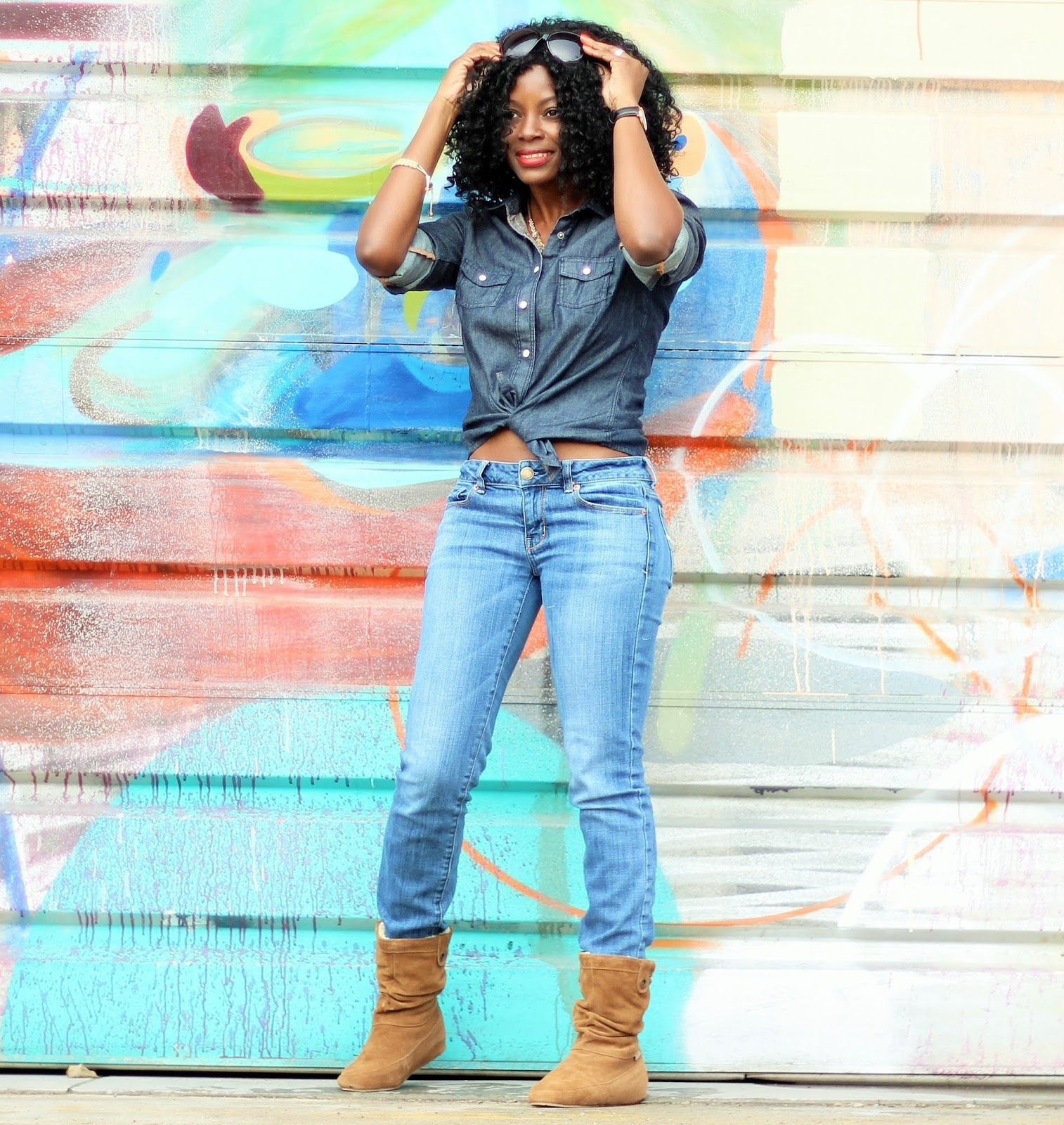 DENIM ON DENIM x TRAVEL BOOTS