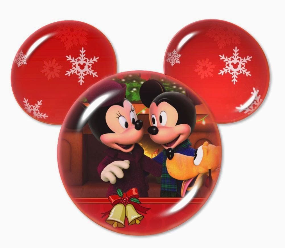Speciall Christmas: Mickey and Minnie in Mickey Heads ...