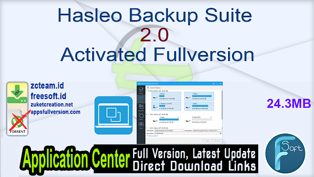 Hasleo Backup Suite 2.0 Activated Fullversion