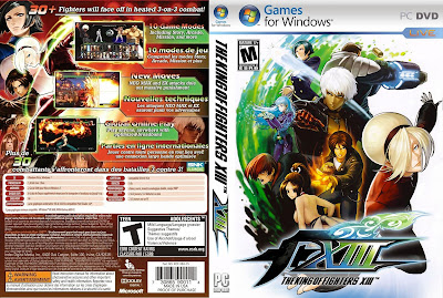 Jogo The King Of Fighters XIII Steam Edition PC DVD Capa