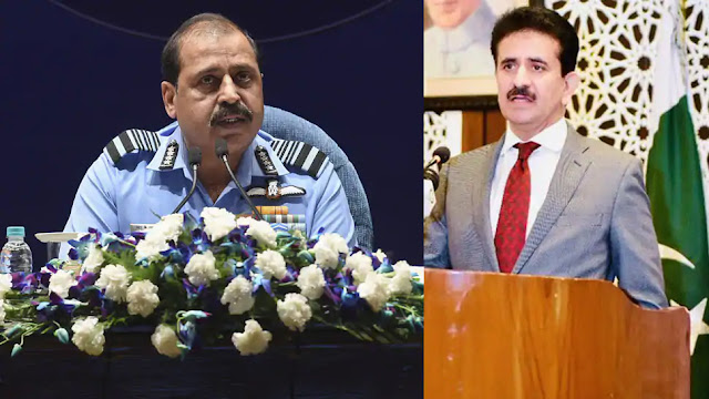 Rattled Pakistan reacts to IAF Chief RKS Bhadauria's 'two-front war' remark, spews venom
