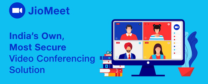 JioMeet: A free Zoom Alternative Indian video conferencing app