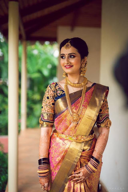 Brides in Traditional Heavy Jewellery