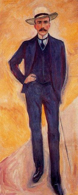 Эдвард Мунк - Граф Гарри Кеслер. 1906