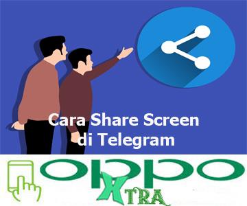 Cara Share Screen di Telegram