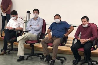 Vereador Alexandre Pereira articula reunião de líderes Evangélicos com Romero, que recomenda  suspensão temporária de missas e cultos em Campina Grande