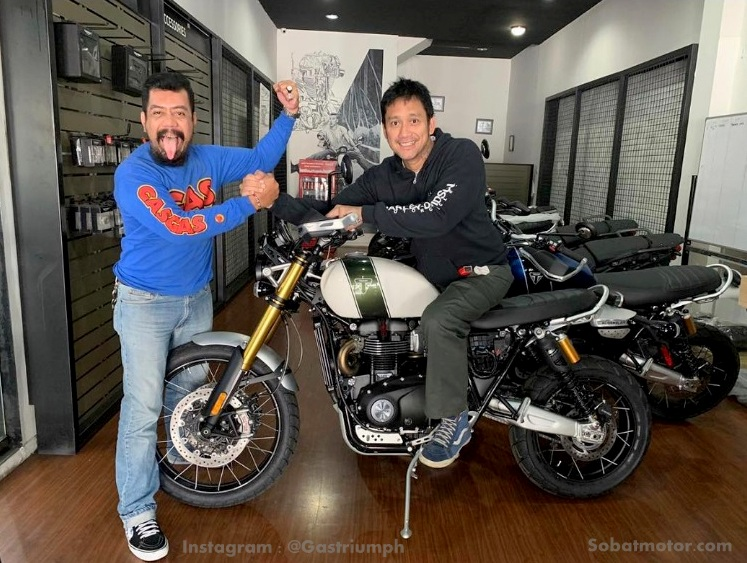 Nih pricelist motor Triumph 2019 yang dijual di Indonesia, harga mulai dari 300 Jutaan !