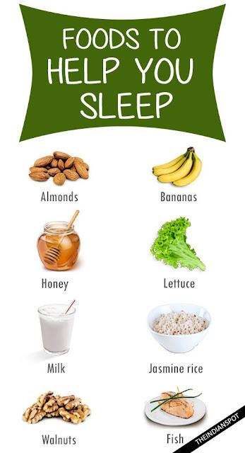 makanan yang membantu tidur lena