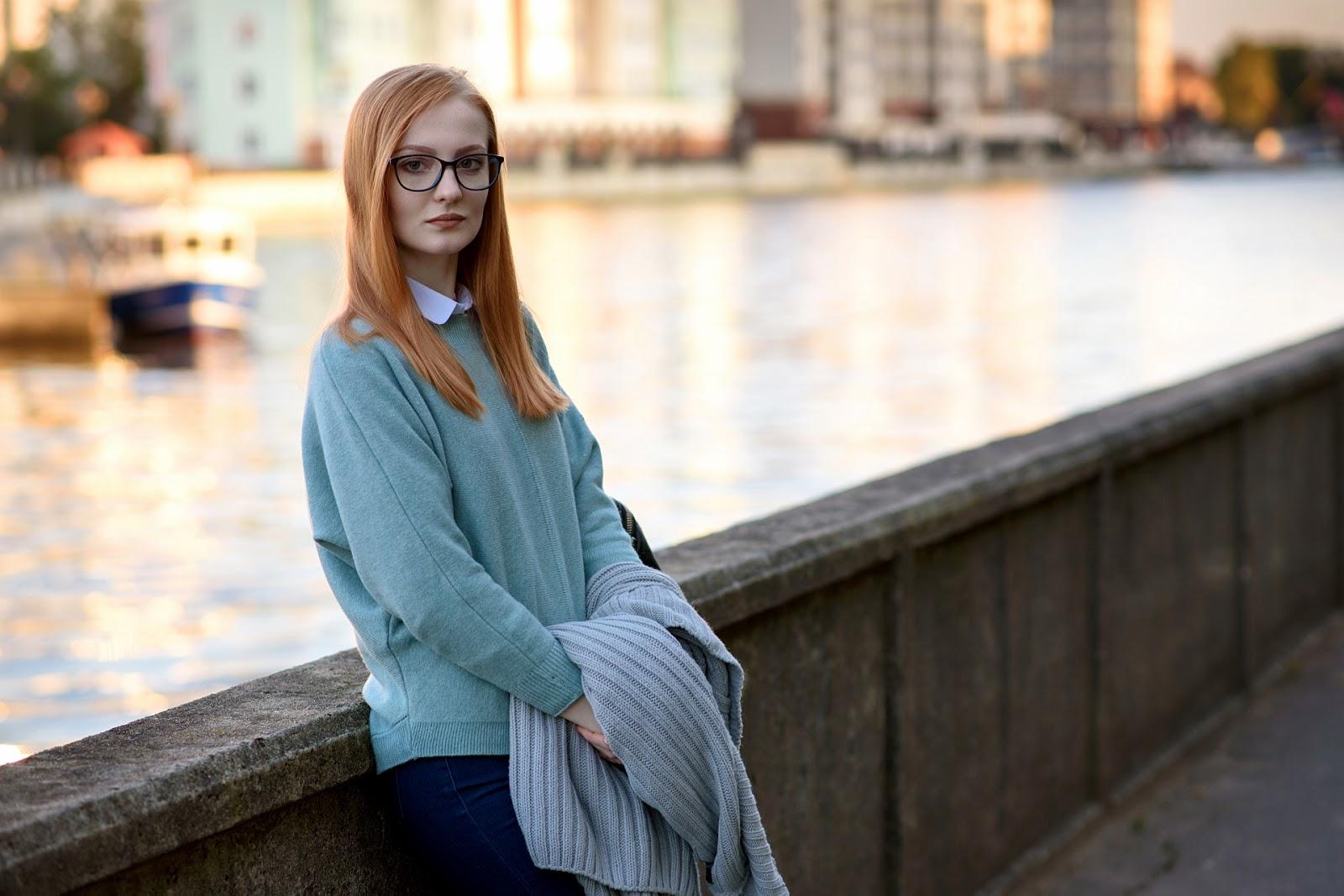 Наталья и набережная Калининграда
