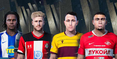 PES 2020 Mix Facepack 1 by Ultra1312
