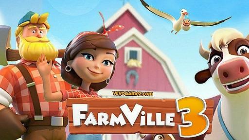 تحميل لعبة FarmVille 3 مهكرة اخر اصدار