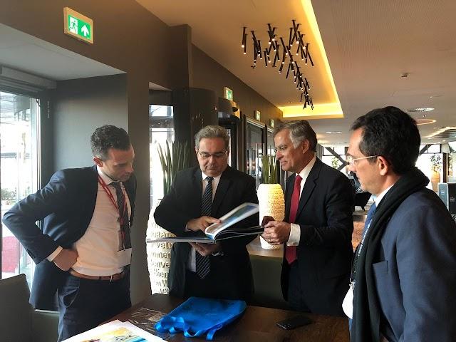 Prefeito Álvaro Dias, ABIH e o secretário de turismo de Natal se reúnem com Corendom em Amsterdã