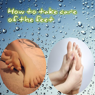 How to take care of the feet? Solve all foot problems.