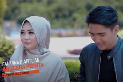 kumpulan lirik lagu Fauzana Ft Aprilian - Anugerah Cinta