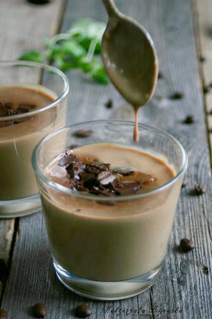 mleczny deser, domowy kisiel, daylicooking, Małgorzata Kijowska