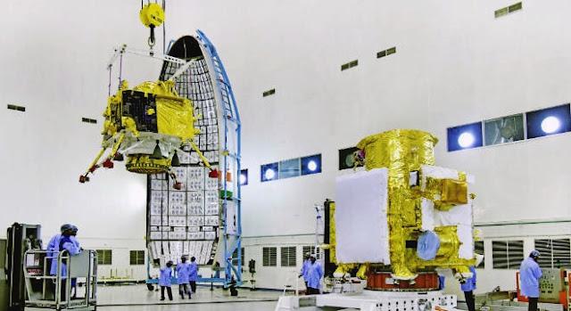 india envia sonda para lua, sonda indiana pousará na lua em busca de água, programa espacial indiano, missão lunar indiana, notícias astronômicas, astronomia, Missão Chandrayaan-2, Chandrayaan-2