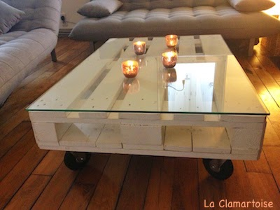 la clamartoise table basse palette