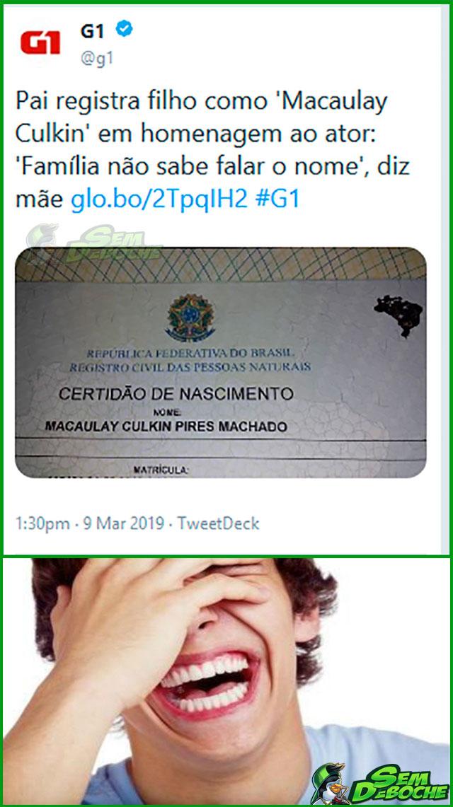 VÃO CHAMAR O GAROTO DE QUE?