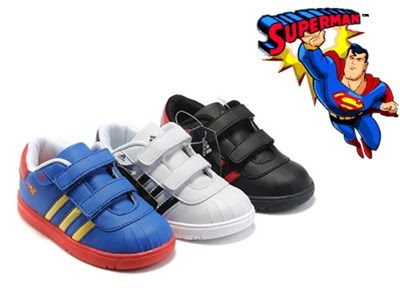 Superman Kids Athletic Shoes. Superman Boys 6 pack Crew Socks (Toddler/Little Kid) by DC Comics. $ $ 13 99 Prime. FREE Shipping on eligible orders. Some sizes/colors are Prime eligible. out of 5 stars Product Features Sock size 4T-5T fits shoe size 11 M US Little Kid - 12 M US Little Kid.