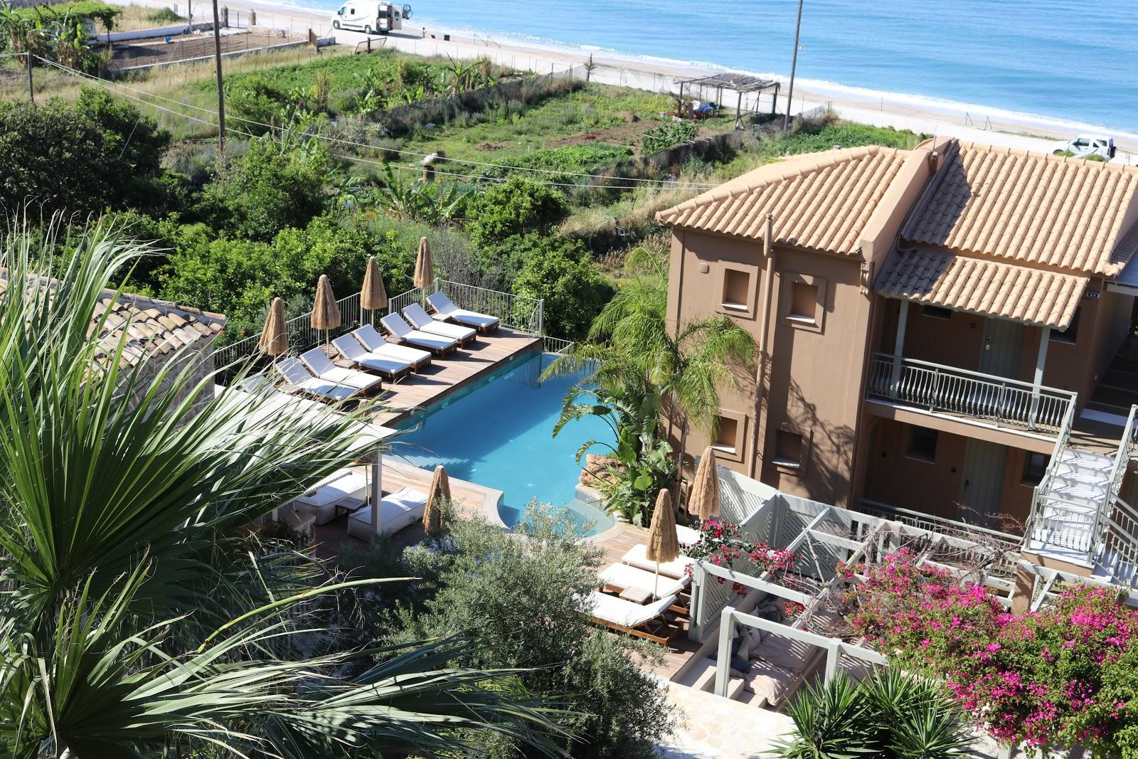 lower pool, F Zeen Resort, Unique Villas, Kefalonia